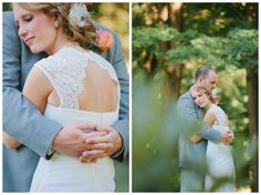 Filmy wooded wedding near Pittsburgh PA | Kelly Adrienne Photography