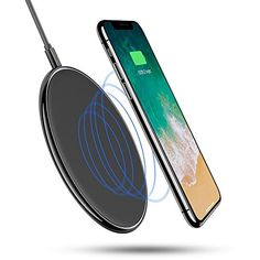 Wireless Charger, Ultra-slim Wireless Charger Charging Pad[Sleep-friendly] for iPhone X iPhone 8 Plus iPhone 8 Samsung Galaxy note 8/S8/S8 Plus/S7/S7 Edge/S6, Nexus 7/6/5  https://topcellulardeals.com/product/wireless-charger-ultra-slim-wireless-charger-charging-padsleep-friendly-for-iphone-x-iphone-8-plus-iphone-8-samsung-galaxy-note-8-s8-s8-plus-s7-s7-edge-s6-nexus-7-6-5/  [ULTRA SLIM] 0.25in thickness, Generates 50% less heat, cooler and more efficient charging. One of the
