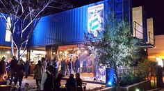 Cantilevered shipping container coffee shop pops up in Johannesburg!