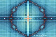 Abstract Fractal Art Digital Print  Angie's by TerraTreasures, $8.00