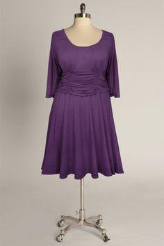 Elizaparker.com  Sofia Dress in Violet