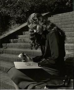 Study Time - Vintage College Pictures