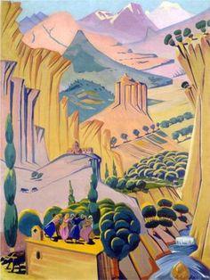 Armenia - Martiros Saryan  Martiros Saryan was an Armenian painter. He was born into an Armenian family in Nor Nakhijevan.  Born: February 28, 1880  Died: May 5, 1972