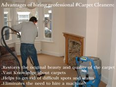 Why we need professional Carpet Cleaners?