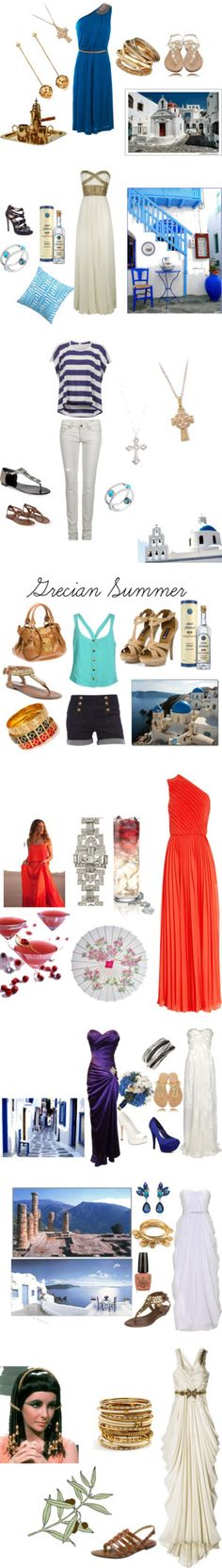 Greek Fashion is the summer must this year. ~TylerMarie