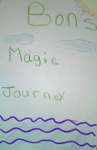 Bon's Magic Journey - how being a writer is darn funny work.