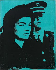 Andy Warhol - Jackie (1964)XX XX More Pins Like This At FOSTERGINGER @ Pinterest XXXX