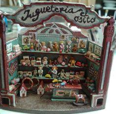 Miniaturas de Almudena González. Juguetería El Osito.