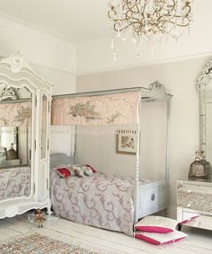 Looking for girls' bedroom ideas? A girl's bedroom is her sanctuary from the outside world as she grows up. A girls' bedroom needs to be a flexible space, accommodating their changing needs from babyhood through to teenage years. Girls Bedroom Furniture, Bedroom Decor, Bedroom Ideas, Bedroom Designs, Nice Furniture, Classic Furniture, Furniture Ideas, Master Bedroom, Awesome Bedrooms