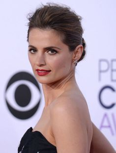 Stana Katic at the People's Choice Awards