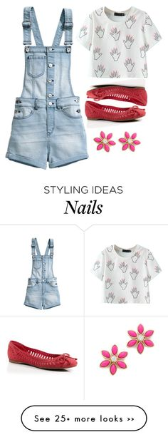 """Polish my nails pink"" by prettyorchid22 on Polyvore"