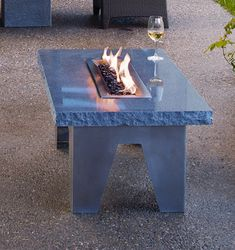 Part of their outdoor collection, granite fire table Vesta by Stone Forest is a perfect way to enhance the mood in your garden. Sitting, gathered around flames is somehow...