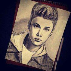 Justin Bieber Drawing Photo