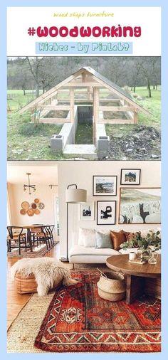 Best Indoor Garden Ideas for 2020 - Modern Wood Shop Projects, Diy Projects, Woodworking Shop, Woodworking Plans, Shop Dust Collection, Wood Shops, Boho Chic Bedroom, Lumber Storage, Shop Buildings