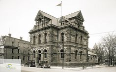 St. Thomas Post Office, northwest corner of Talbot and Mary Streets, circa 1920s | Flickr - Photo Sharing!