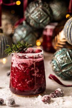 Frosted Mistletoe Margarita | halfbakedharvest.com