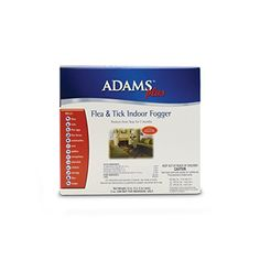 Adams Plus Flea   Tick Indoor Fogger, 3 Pack *** Want additional info? Click on the image.