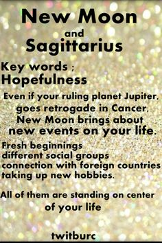 There is New Moon in #Sagittarius on 3rd December . Do you know how will it affect you? #sagittarius  #astrology #newmoon  #twitburc