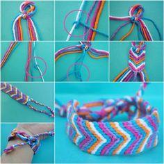 How to Make an Oversized Friendship Bracelet DIY Tutorial   iCreativeIdeas.com Like Us on Facebook ==> https://www.facebook.com/icreativeideas