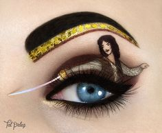 Amazing Eye Makeup Were In Awe Of This Amazing Pop Culture Eye Makeup Hellogiggles Amazing Eye Makeup Cute Eye Makeup Eyeliner Ideas Compilation Amazing Eye Makeup. Amazing Eye Makeup Best Eye Makeup Of 2018 Mascaras Eyeliners Shadow. Cute Eye Makeup, Bright Eye Makeup, Creative Eye Makeup, Eye Makeup Art, Eye Art, Gorgeous Makeup, Eyeshadow Makeup, Awesome Makeup, Make Up Art