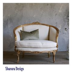 Sofa classic style (lovely) Handmade