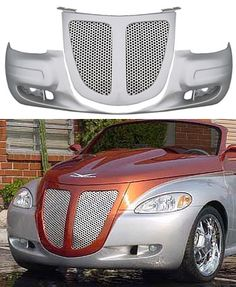 Chrysler PT Cruiser Grille - Pteazer Roadster with Smoothie or Bumperette Front Fascia