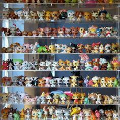 littlest pet shop collection made me think of your girls! Don't u wish u can find out we're thay live get a giant bag go in while their not their and just swipe all of them in the bag that's what I always feel when I see theses photos THEM LPS THEM ALL Lps Littlest Pet Shop, Little Pet Shop Toys, Little Pets, Lps For Sale, Lps Toys, Cute Toys, My Little Pony, Childhood Memories, Minis