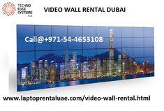 Video Wall Rental Dubai  - Techno Edge Systems