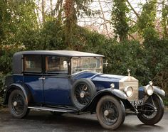 1928 Limousine by Barker (chassis GKM26)