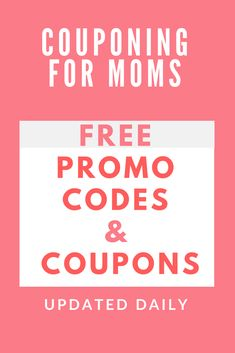 Coupons for moms to