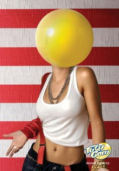 Hahah random bubble gum ad...