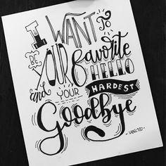 Made by Label160. #dutchlettering #handlettering #handletteren #becreative #handwritten #handgeschreven #handmade  #quotes #quote  #doodles #handlettered #letterart #lettering #handmade #handwritten #handmadefont #sketch #draw #tekening #modernlettering #wordart #font #draw #doodle #tekening #dutchletteringchallenge #hello #goodbye