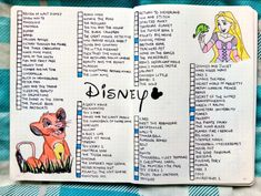 15 Magical Disney Bullet Journal Spreads - Brighter CraftYou can find List of disney movies and more on our Magical Disney Bullet Journal Spreads - Brighter Craft Bullet Journal Disney, Bullet Journal Netflix, Bullet Journal Tracker, Bullet Journal Notebook, Book Journal, Bullet Journals, Movie To Watch List, Disney Movies To Watch, Movie List