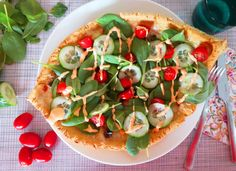 Vegetable Pizza, Vikings, Vegetables, Food, The Vikings, Essen, Vegetable Recipes, Meals, Yemek