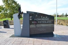 Honoring ALL Veterans! — at Hicksville Veterans Memorial.