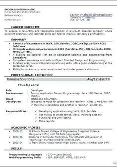 Sample resume format, Resume format, New resume format, Best resume format, Resume format examples, Downloadable resume template - Resume Format For 6 Months Experienced Software Engineer   Site Skip  -  #Sampleresume #format