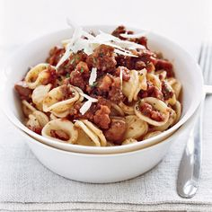 Orecchiette Bolognese with Chestnuts | Food & Wine