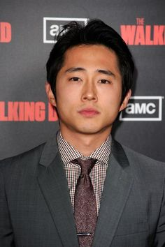 Steven Yeun. Biggest crush on him in The Walking Dead.