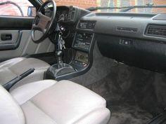 1984 Audi UrQuattro Turbo Coupe Quattro Interior
