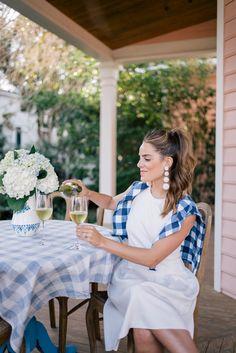 Gal Meets Glam Three Looks Around Charleston With J.McLaughlin - J.McLaughlin dress, sweater & clutch c/o, Joie heels & Rebecca de Ravenel earrings