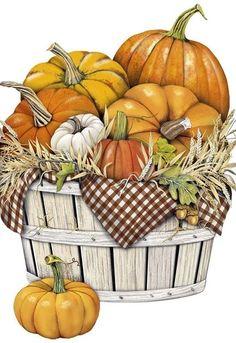Pumpkins (Mary Lake Thompson)