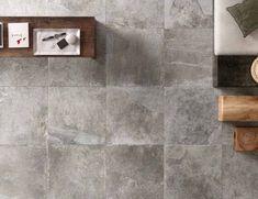PRE073 2 Grey Tiles, Bathroom Renos, Tile Floor, Fireplace Tiles, Ceramics, Tweed, Crafts, Ceramica, Gray Tiles