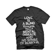 wordboner.com: typography with personality ❤ liked on Polyvore featuring tops, t-shirts, shirts, tees, t shirts and shirts & tops