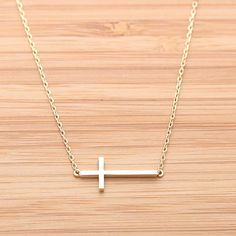 Silver cross necklace… 15$ @ tilleys