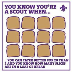 We loved your responses when we asked you how you know you're a Scout! Cub Scouts Wolf, Girl Scouts, Scout Quotes, Volunteer Appreciation, Scout Leader, Girl Guides, Outdoor Fun, Cubs, Catering