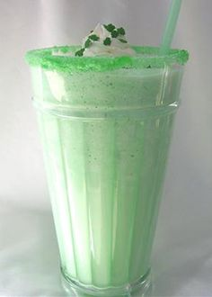 Copy Cat - McDonald's Shamrock Shake (from Top Secret receipes-by Todd Wilber)