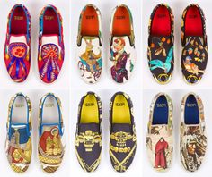 Vans Painting Shoes collaboration with hermes