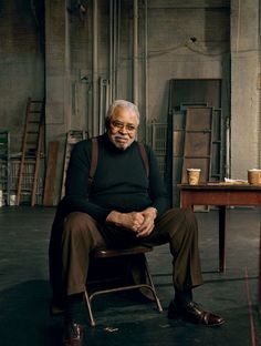 James Earl Jones, nominated for the 2017 Special Tony Award for Lifetime Achievement in the Theater. Photographed by Annie Leibovitz, Vogue, October 2010.
