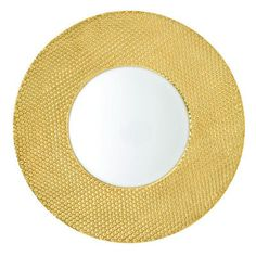 Raynaud Caviar Gold Gloss Buffet Plate