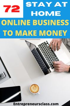 Looking for stay at home business you can start to make money online? We share this 72 online business to make money right now. They're the best money making ideas you need to know if you're looking for making money online business while you stay at home. Best Business Ideas, Best Home Business, Business Money, Business Advice, Business Entrepreneur, Online Business, Stay At Home, Make Money From Home, Make Money Online